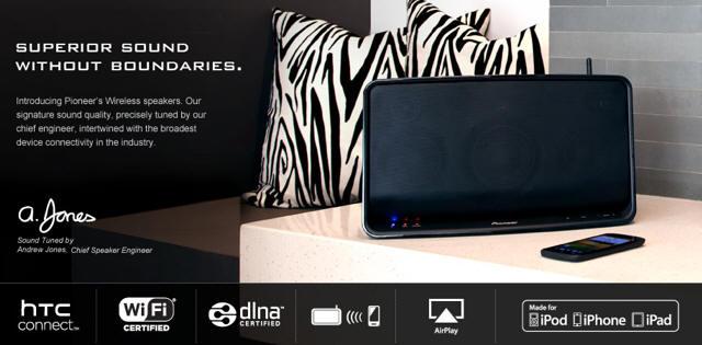 Pioneer XW-SMA3-K Wireless Speaker Descargar Controlador